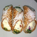 CANNOLO SICILIANO и кофе