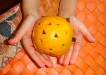 Настойка на апельсине и кофе